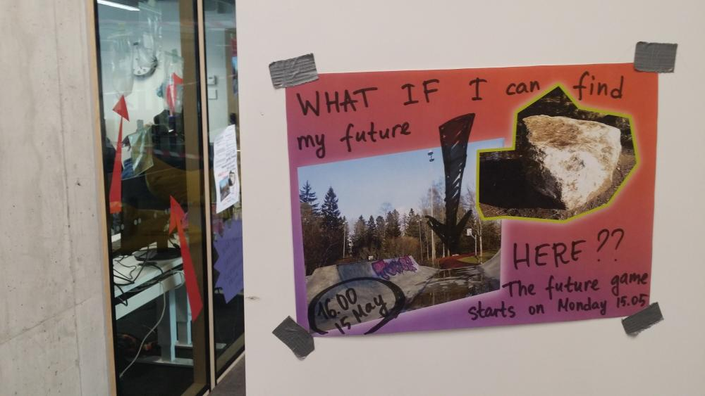 myfutures.trade, poster from the workshop at the youth center
