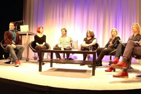 Art of the Long New panel at Media Lab Helsinki 20th anniversary