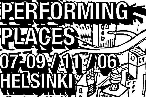 Performing places logo